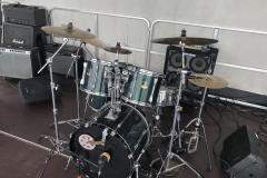 Yamaha Drum set with Zildjian Cymbals